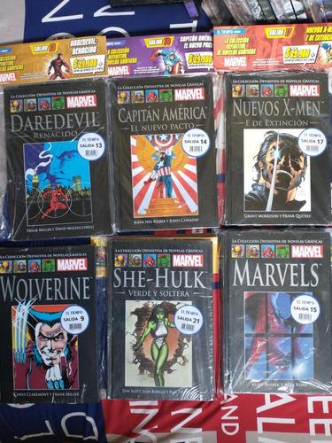 Imagen 1 de 6 de Novelas Gráficas De Marvel. Colección Definitiva.envíogratis