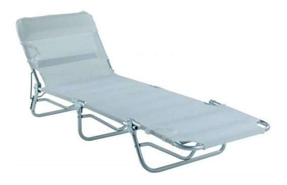 Cadeira Espreguiçadeira Alumínio 3 Posições Bel Lazer