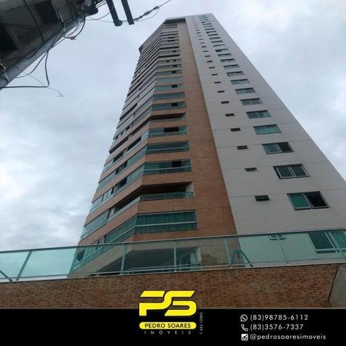 Imagem 1 de 15 de Cobertura Com 3 Dormitórios À Venda, 210 M² Por R$ 1.200.000,00 - Bairro Dos Estados - João Pessoa/pb - Co0059
