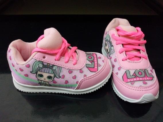 Tênis Infantil Lol Surprise (barbie Frozen Ladybug Sandália)