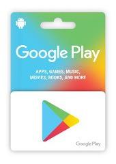 Tarjetas Google Play Codigos Digitales