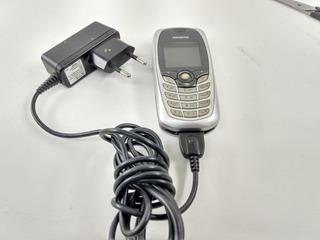 Telefone Celular Antigo Siemens Com Carregador