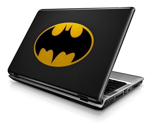Batman Arkham City / Asylum : Skin Adesivo P/ Notebooks Dc