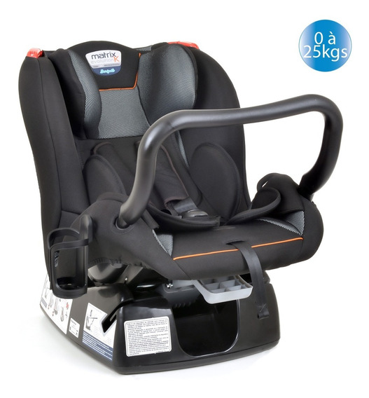 Cadeirinha Cadeira Carro Burigotto Matrix Evolution Orange