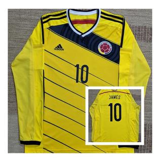 Camisa Seleção Colômbia 2014 _ James Rodriguez _ Impecável
