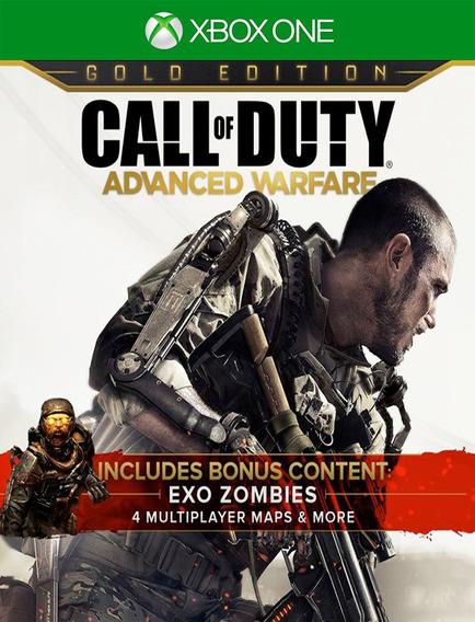 Call Of Duty Advanced Warfare Gold Xbox - Original (25 Dig)