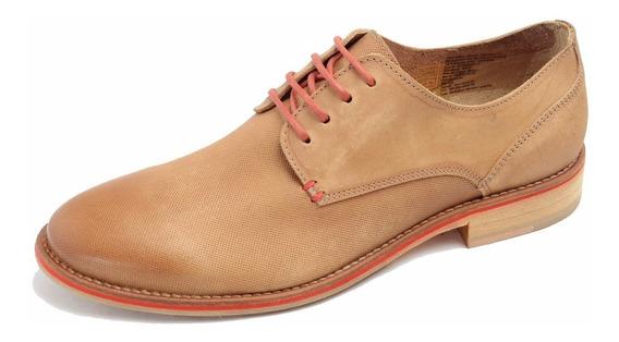 Zapato Democrata Hombre Solid Suela Cuero 069102 Cuotas