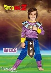 Disfraz De Bills Dragon Ball Talle 2