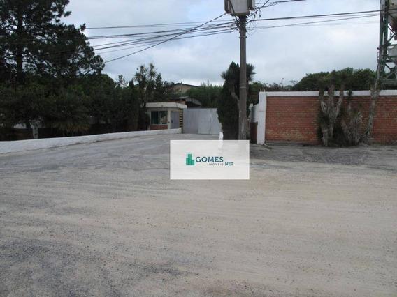 Terreno Para Alugar, 3794 M² Por R$ 7.000,00/mês - Cidade Industrial - Curitiba/pr - Te0028