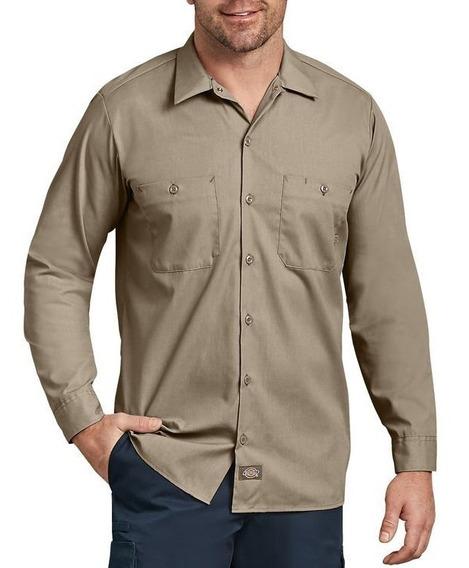 Dickies Ll535 Camisa Camisola Trabajo Ligera Manga Larga