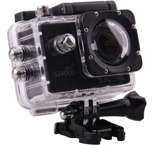 Câmera Sjcam Sj4000 Wifi Preta
