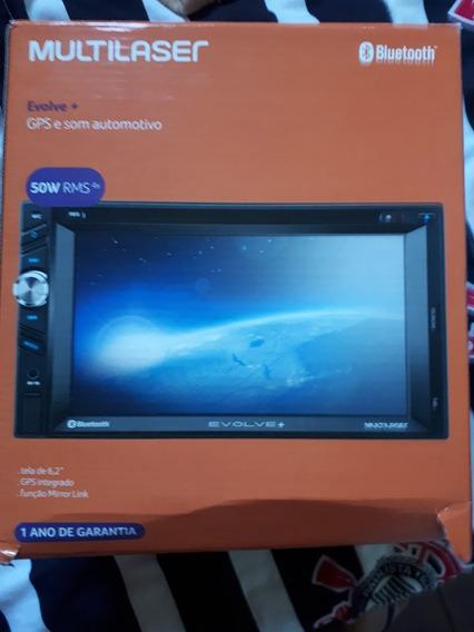 Multimidea Evolve + Gps Tv Espelhamento De Tela