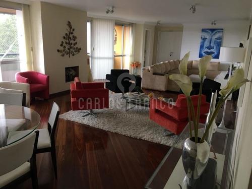 Apartamento: 220 M², 4  Suítes, E 2 Vagas Na Região Do Panamby. - Cf66130