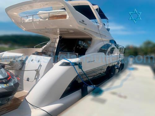 Lancha Intermairne 60 Barco Iate N Ferreti Azimut Cimitarra