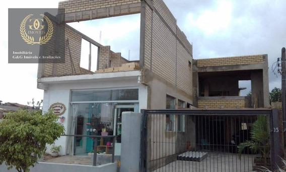 Casa Em Itapuã - Excelente Localização - Ca0477