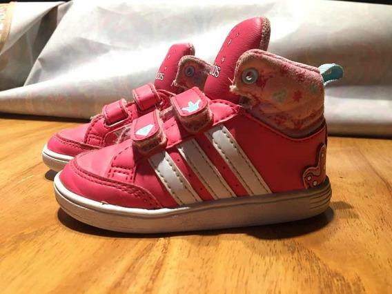 Zapatillas Nena Talle 20 adidas Botitas Como Nuevas!!!