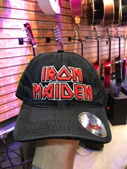 Boné Iron Maiden Jeans Original Bomber Rock In Rio