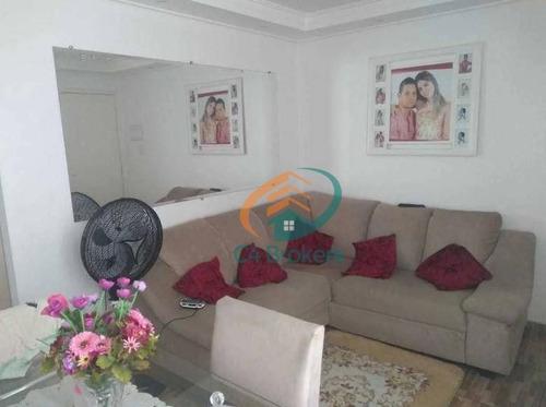 Apartamento Com 2 Dormitórios À Venda, 45 M² Por R$ 185.000,00 - Água Chata - Guarulhos/sp - Ap1837