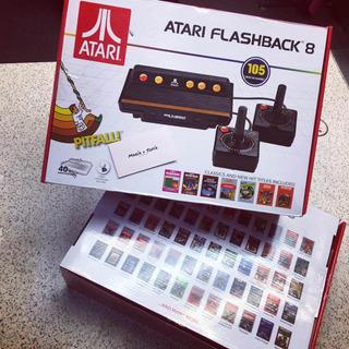 Consola De Videjouegos Atari Flashback 8!