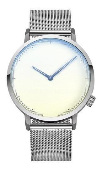 Reloj Hombre Elegante Plata/gris