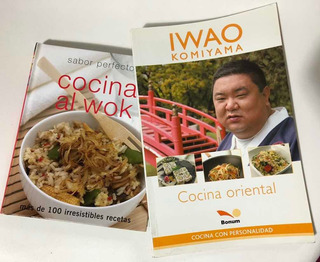 Cocina Oriental Iwao Komiyama+ Cocina Al Wok 100 Recetas