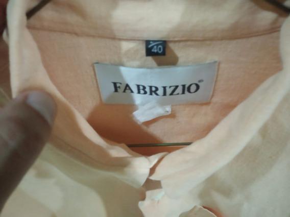 Camisa Talla L (40) Usada Marca Fabrizio