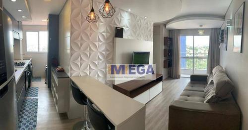 Imagem 1 de 14 de Apartamento Com 2 Dormitórios À Venda, 53 M² Por R$ 294.900,00 - Ortizes - Valinhos/sp - Ap4857