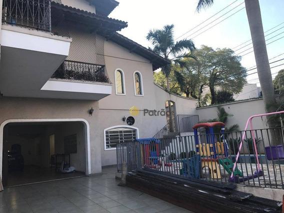 Sobrado Com 4 Dormitórios À Venda, 630 M² Por R$ 1.950.000 - Vila Guiomar - Santo André/sp - So0770