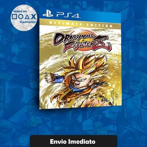 Dragon Ball Fighterz - Edição Ultimate Ps4 Envio Rapido