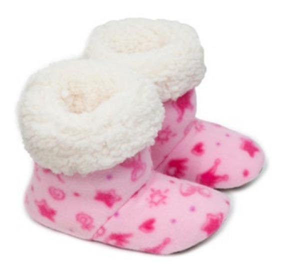 Pantufa Infantil Bota Cano Alto Cotton Day Super Confortável