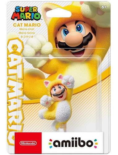 Amiibo Mario Cat - Colección Mario 3d World - Sniper