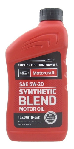 Aceite Semisintético Motorcraft 5w20, 5w30, 10w30 Original.