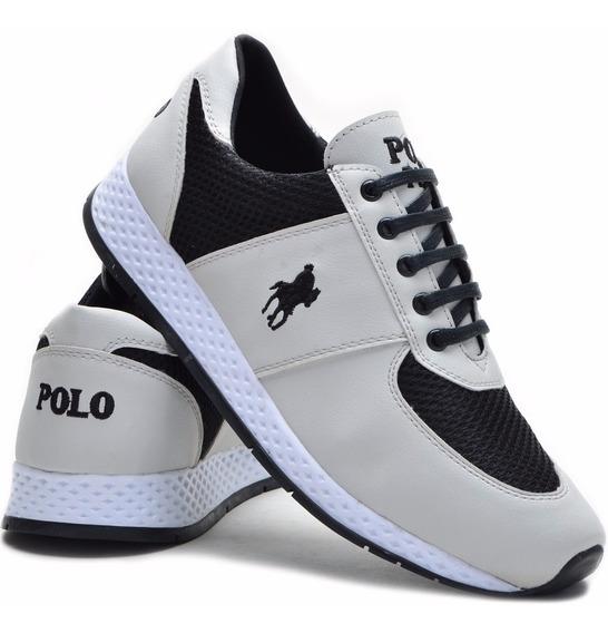 Tenis Masculino Polo Plus Original Promoção Jogging Original