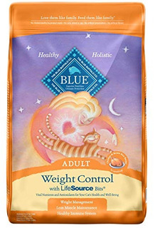 Blue Buffalo For Cats Natural Adult Dry Cat Food Weight Cont