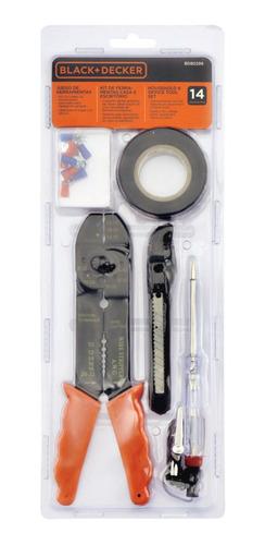 Kit De Ferramentas P/ Casa 14 Pçs Black+decker - Bd80299-840