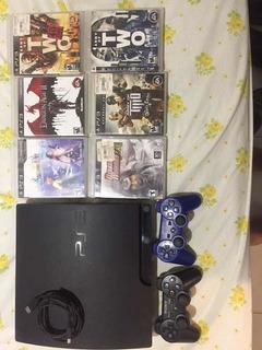 Playstation 3 Slim 12 Juegos 1 Controles