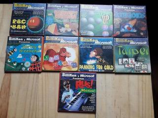 Lote X 9 Juegos Billiken Diskettes Excelente Estado