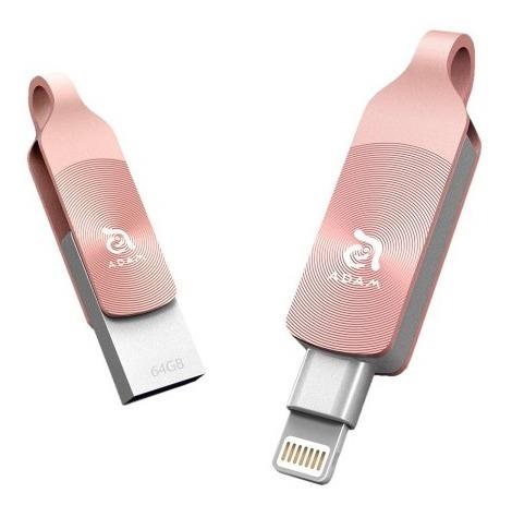 Pen Drive Para iPhone iPad Adam Elements Iklips Duo 64gb
