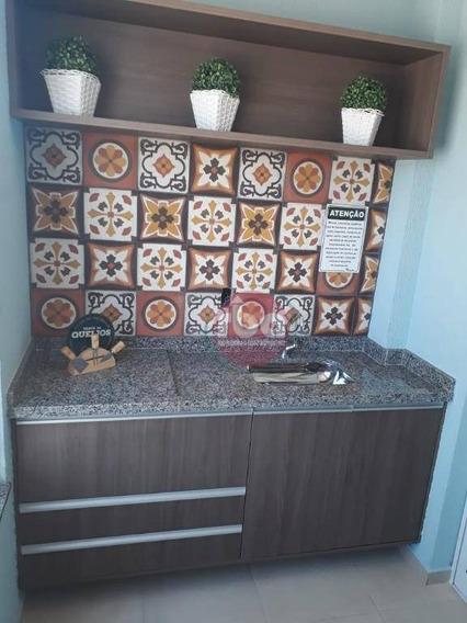 Apartamento Com 2 Dormitórios À Venda, 61 M² Por R$ 205.000 - Jardim Leocádia - Sorocaba/sp - Ap0798