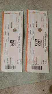 2 Entradas Para El Concierto De Bon Jovi 14 De Septiembre