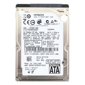 Hd 2.5 Notebook Hitachi 640gb - Sata 2 - Novo Com Garantia
