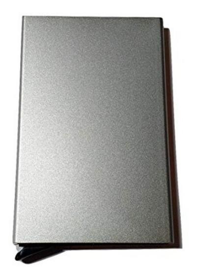 Porta Tarjeta De Aluminio Slim Antirrobo Seguridad Rfid Sale
