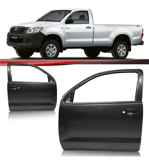 Porta Hilux Srv Cabine Simples Pick Up 2005 A 2012