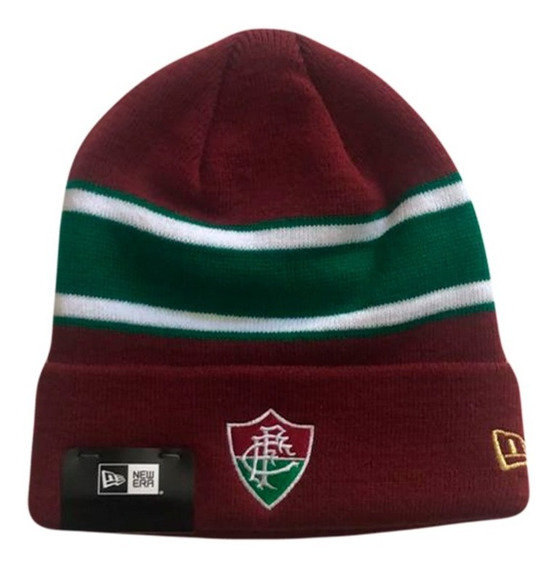 Novo Gorro Fluminense Tricolor New Era Touca Oficial
