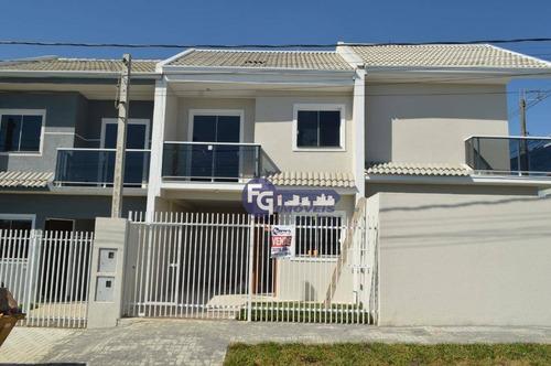 Imagem 1 de 25 de Sobrado Com 2 Dormitórios À Venda, 70 M² Por R$ 264.900,00 - Sítio Cercado - Curitiba/pr - So0152