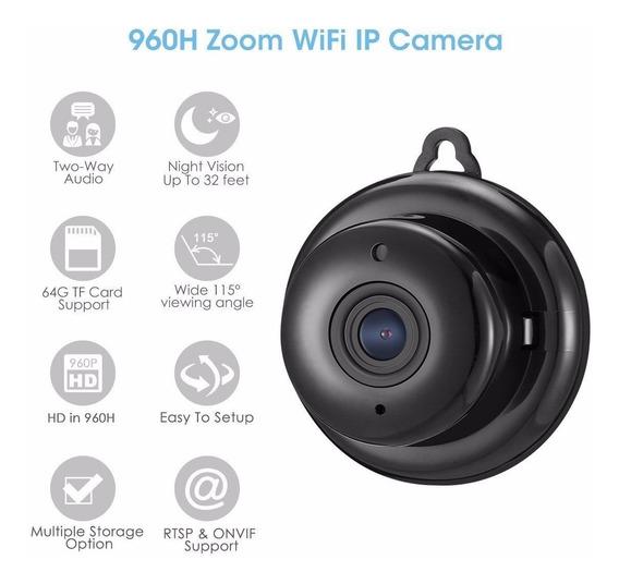 Mini Micro Camera De Segurança Digoo Dg-m1q 960p Hd Wireless
