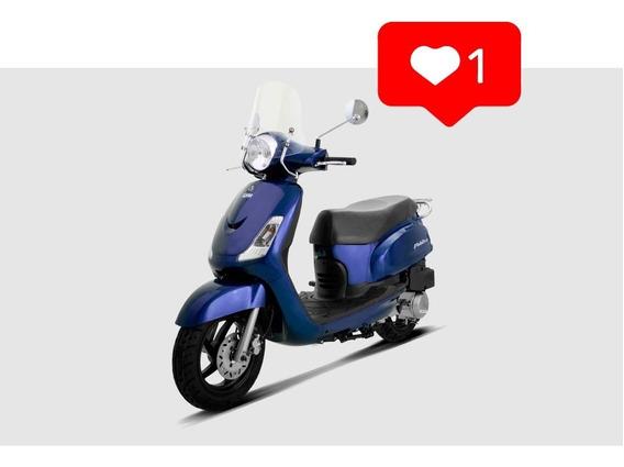 Sym Fiddle Ii 150 S 0km Scooter Uno Motos 0km Fab 2019
