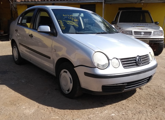 Sucata Polo Sedan 2004 1.6 8v