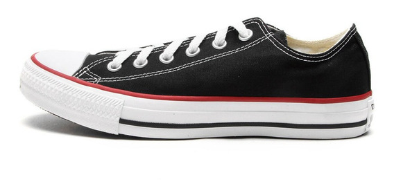 Tênis Casual All Star Converse Do 34 Ao 43 Preto E Branco