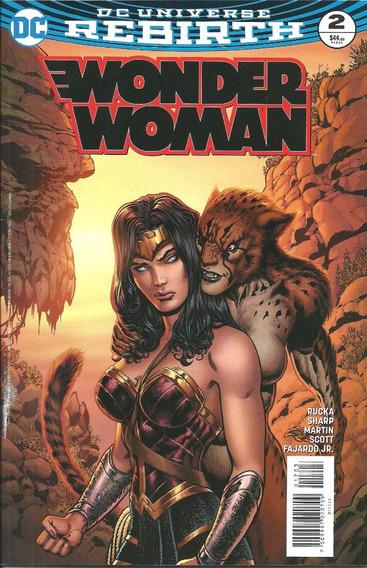 Rebirth Wonder Woman #2 De Dc Comics Mexico De Televisa